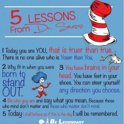 dr suess lessons